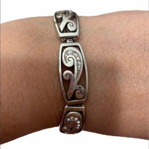 Brighton Silver Stone Bracelet